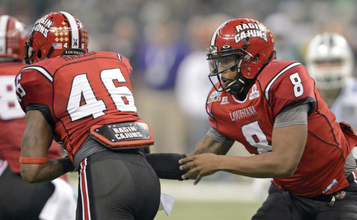 Arkansas State Red Wolves vs. LA-Lafayette Ragin' Cajuns NCAAF Free Pick And Preview