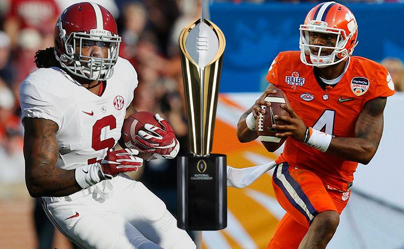 NCAAF Championship 2016 Free Pick – Alabama vs. Clemson