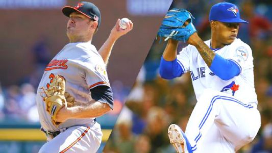 Chris Tillman vs. Marcus Stroman American League Wild Card Game 2016