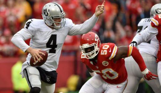 Raiders vs. Chiefs Free Picks 12/08/16 - Thursday Night Football Odds