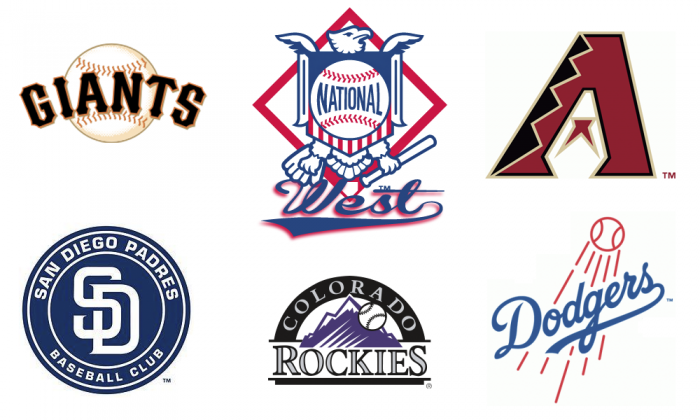 National League West the Class of the MLB